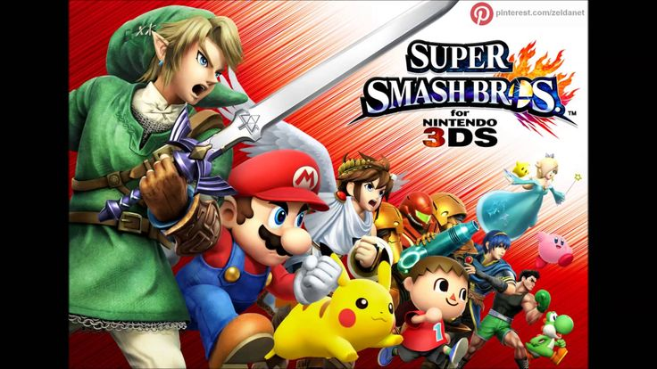 Super Smash Bros for 3DS music - Super Smash Bros Melee Version 2 - By http://www.pinterest.com/zeldanet/