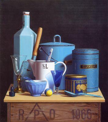 Klaas Wiedijk (oil on canvas)