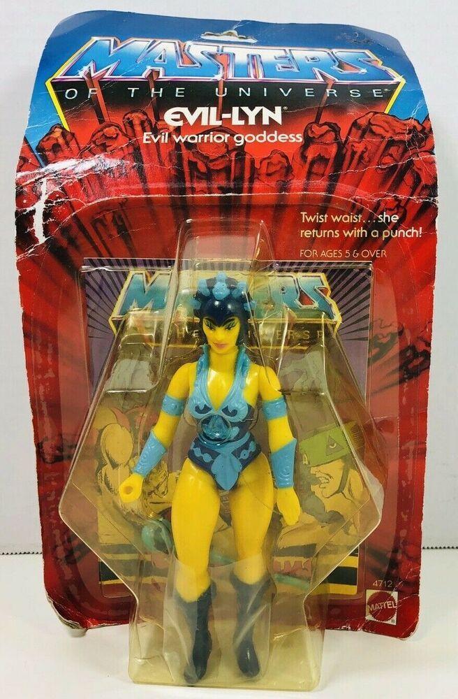 Evil-Lyn MOTU Vintage Action Figure Masters of the Universe Mattel 1982