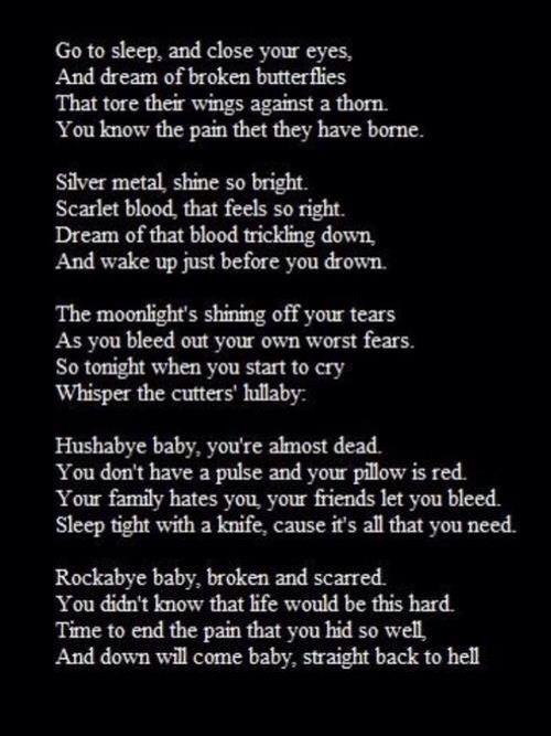 Suicide Poems And Quotes: Depression And Suicide Is Sad Not A Joke
