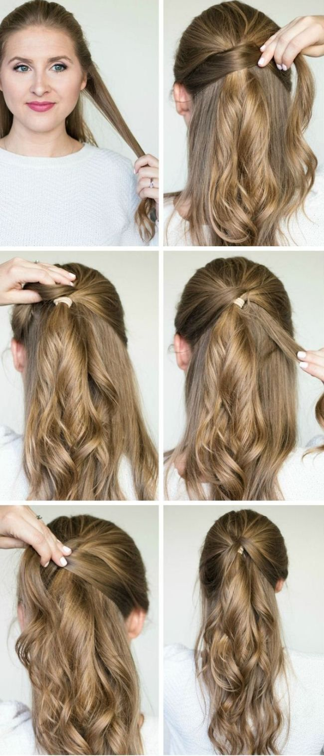 i want to do easy party hairstyles for long hair step by