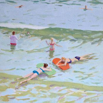 Rob Diebboll: Oil Painting - Floating (2006)