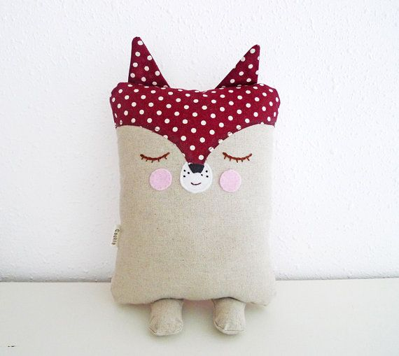 Fox Plush / Baby Pillow