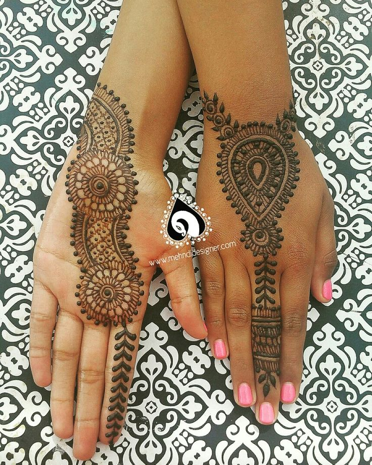 Jewelry style henna