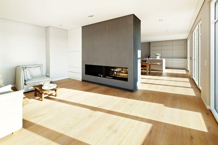 Natürliche pur natur Eichendielen verschönern den Wohnraum