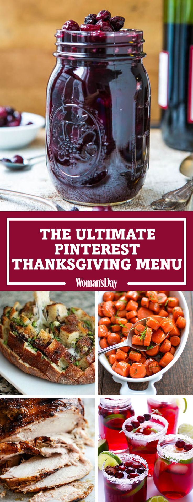 Feast your eyes on the 30 most popular Thanksgiving recipes on Pinterest.