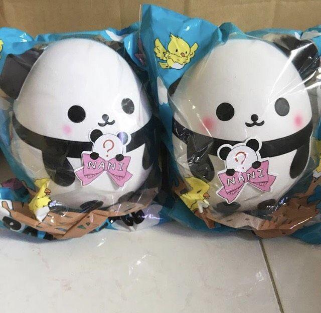 Nani Panda Limited Preorder 1 Week Squishies Cute