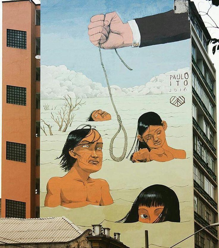 Street art, arte urbana, graffiti. Ver esta foto do Instagram de @sampagraffiti • 1,504 curtidas