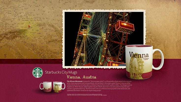 Starbucks City Mug Vienna Desktop Wallpaper
