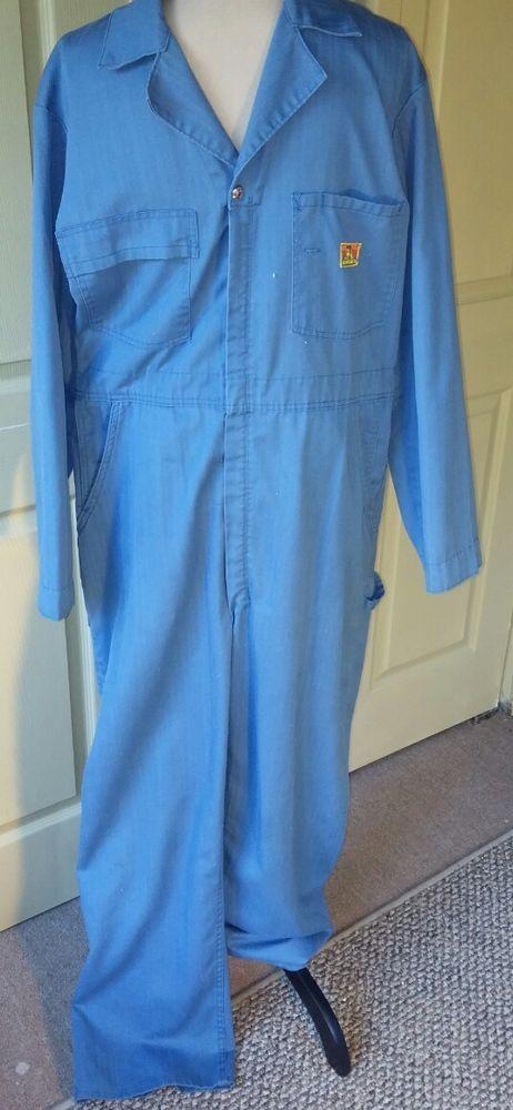Ben Davis VTG Men's Coveralls Jumpsuit One Pc~Sz 40L~Work Blue~Mechanic~RARE HTF | Clothing, Shoes & Accessories, Vintage, Men's Vintage Clothing | eBay!