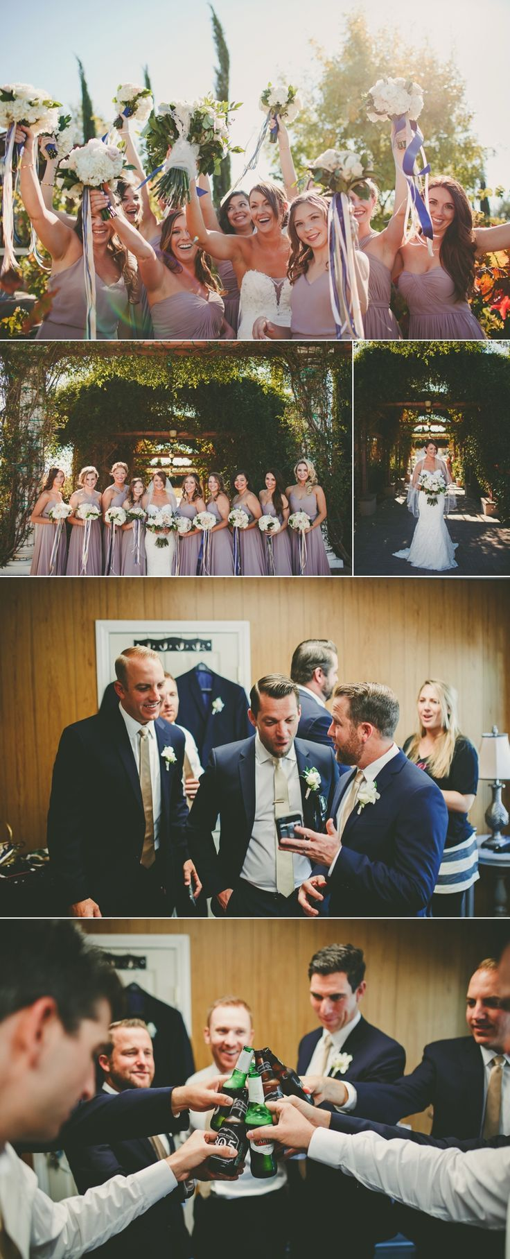 Photo collage from a vineyard wedding at Mount Palomar Winery in Temecula, California. #mountpalomarwinery