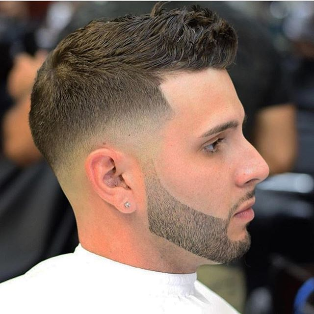 Follow @ratemycuts @ratemycuts going live soon . With weekly barber battles . Haircut credit to @eddie_rtb