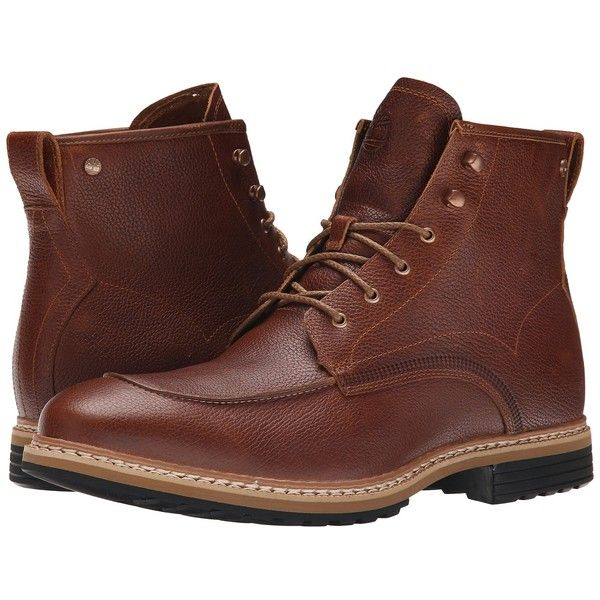 Timberland West Haven 6 Waterproof Boot (Dark Brown Full Grain) Men's... ($190) ❤ liked on Polyvore featuring men's fashion, men's shoes, men's boots, men's work boots, mens waterproof work boots, mens work boots, timberland mens work boots, mens platform boots and mens water proof boots