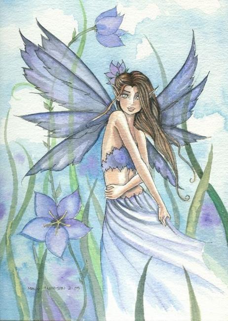 Fairy Art: Dance of Spring by Artist Molly Harrison