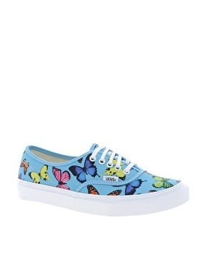 #Vans Authentic Slim Butterflies Trainers
