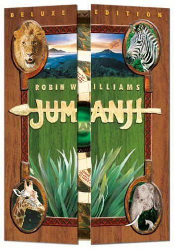 Jumanji -- A mysterious game transports its players to the jungles of Jumanji! Thrilling effects! - 1995 ♥♥♥