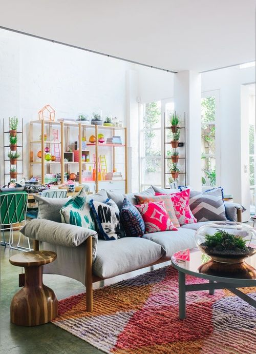 boho chic | colorful living