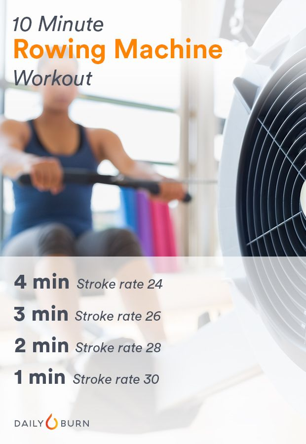 The 10-Minute Rowing Workout This Olympian Swears By
