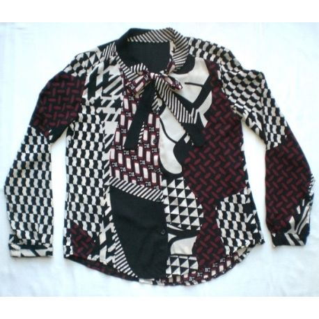70s vintage style blouse