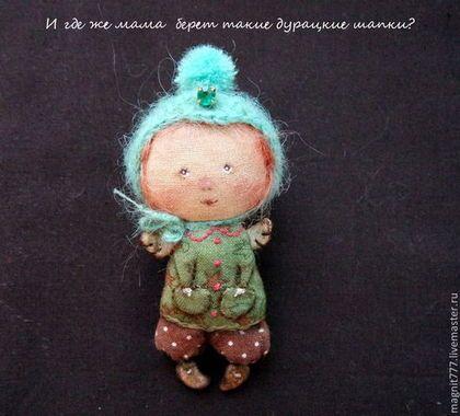 Брошка в стиле Примитив - гапчинская,брошка ручной работы,текстильная кукла
