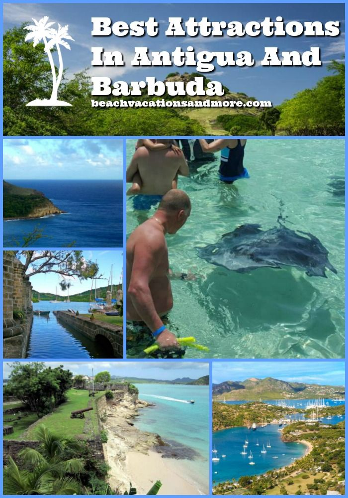 Antigua and Barbuda attractions not to miss - they will delight water lovers, nature lovers and historians alike!