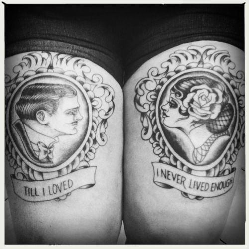 i definitely want a cameo tattoo and these are incredible