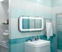 Зеркало, с пескоструйным рисунком, с подсветкой, под заказ, любой формы, с любым изображением