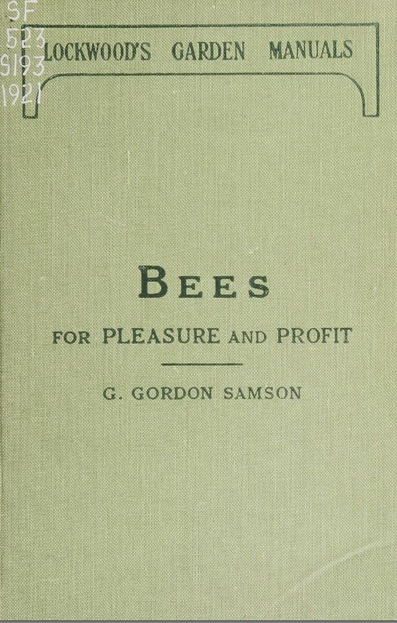 83 best beekeeping literature images on pinterest bee keeping a guide to the manipulation of bees the production of honey and the general management of the apiary samson george gordon free download borrow fandeluxe Choice Image