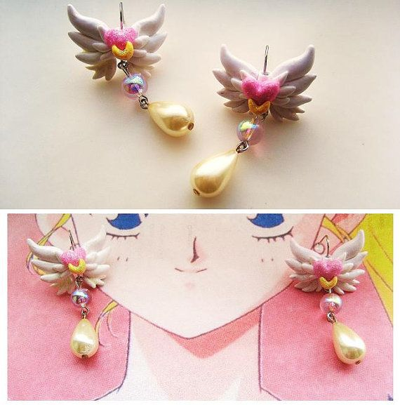 Sailor earrings Moon Eternal online handbags