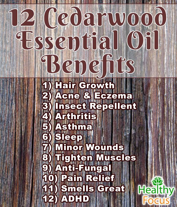 13 Science Backed Cedarwood Essential Oil UsesTrudie Fetterman