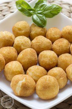 Dufinki - ziemniaki w innym wydaniu...znanych ze sklepu mrożonych kulkach ziemniaczanych.
