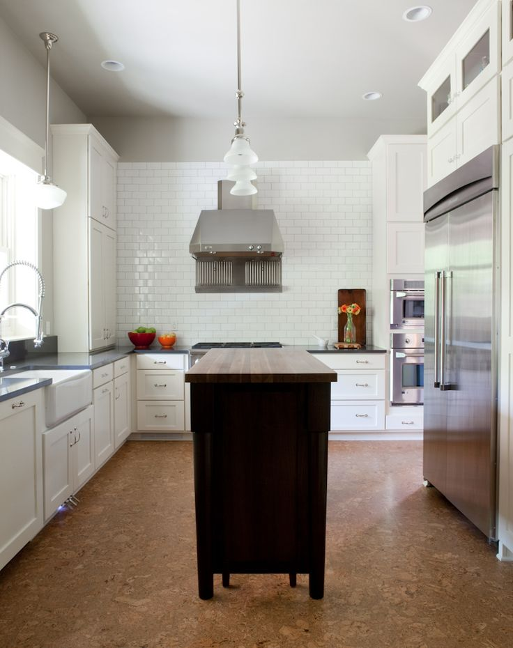 Beth Haley Design. Cork Floor. -via Interior Canvas