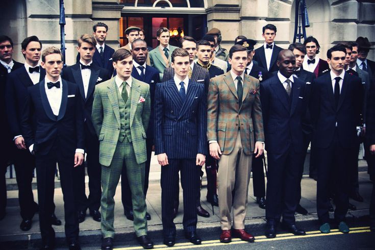savile-row suit up