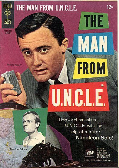 "Cry UNCLE: THRUSH uses agent Solo against the organization! Robert Vaughn last acted in the BBC's ""Hustle""; David McCallum (Kuryakin) is ""Ducky"" Mallard in ""NCIS."""