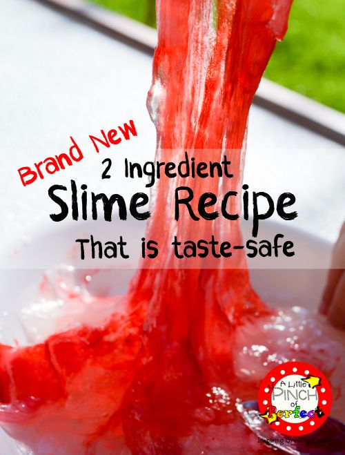 Brand NEW Edible Slime Recipe (secret ingredient)-Make slime in 5 minutes with only 2 ingredients- it's amazing!