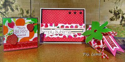 "Peachy Paper Crafts Part Deux: May National Scrapbooking Month Blog Hop ""Taste Of Summer"""