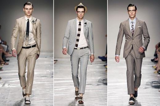 Виды молодежных мужских костюмов