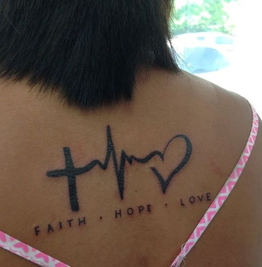 Love Tattoos Ideas and New Tattoo Designs for Lovers   Styles Hut.. getting a temp tat like this is on my bucket list