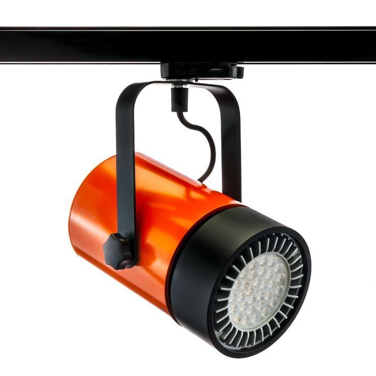 Maybe SPOT LIGHT? COIN SPOT luminaire in beautiful orange colour.