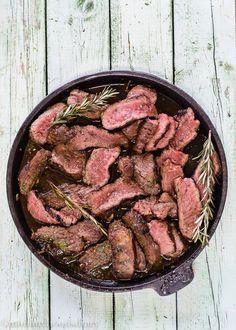 Carne Asada con Vinagre Balsámico y Ajo