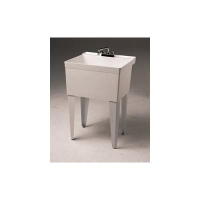 Fiat Floor Sink : Fiat Crane Single Bowl Utility Sink FL1 White I want IT. Pinterest ...