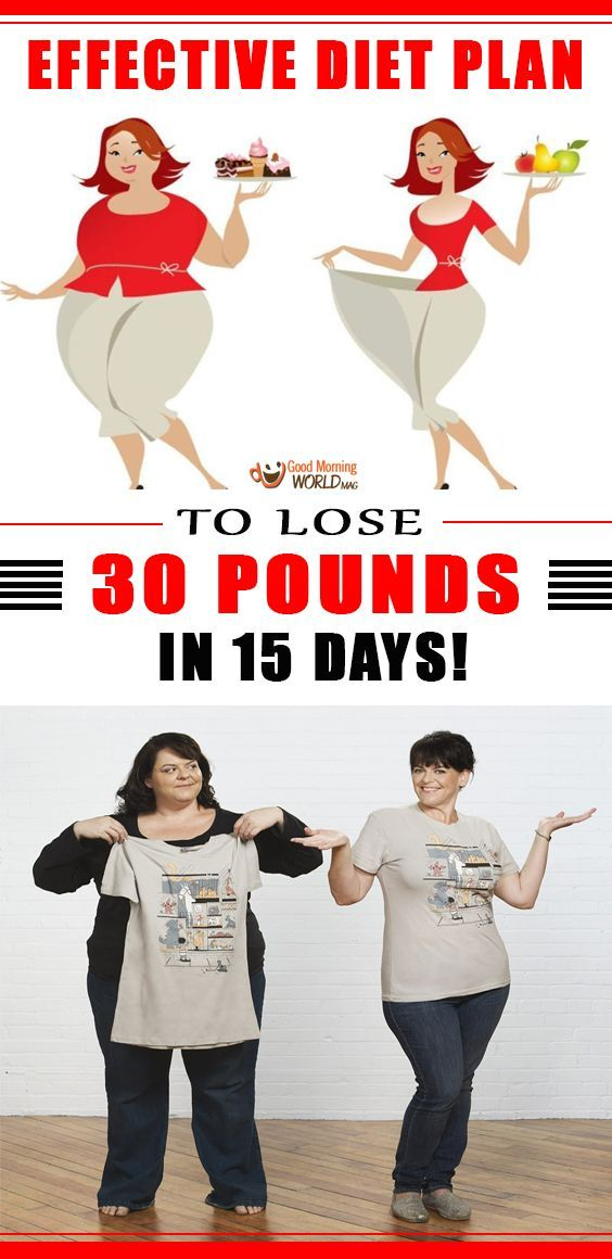 How would you feel if we tell you it's possible to lose 30 pounds in 15 days?