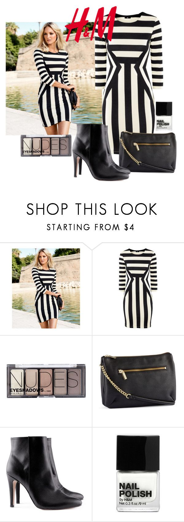 """""""H&M look"""" by ultraviolet92 ❤ liked on Polyvore featuring H&M"""