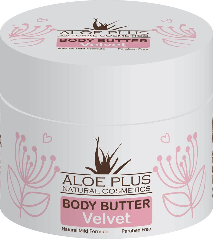 Aloe Plus Body Butter 200ml - with Organic Aloe vera in high concetration , Shea Butter, Cocoa Butter, Avocadin and Plum oil