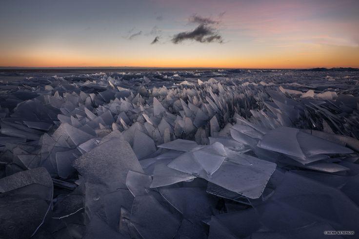 Kuhjunud jää | Remo Kuningas – loodushetked