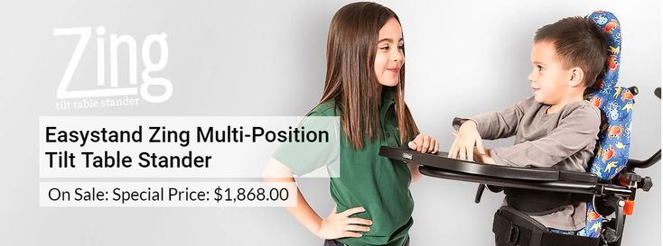 EasyStand Zing Multi-Position Tilt Table Stander | pediatric supine to prone positioning stander | special needs | at special price $1,868.00
