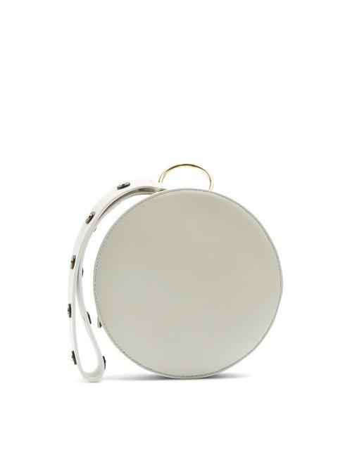 Diane Von Furstenberg Circle leather clutch