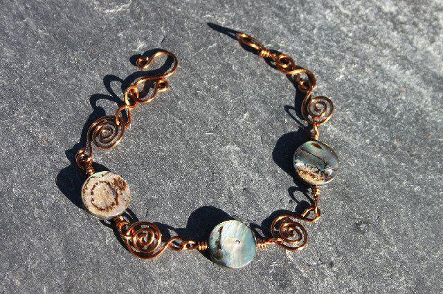 Abalone bracelet, £12.50