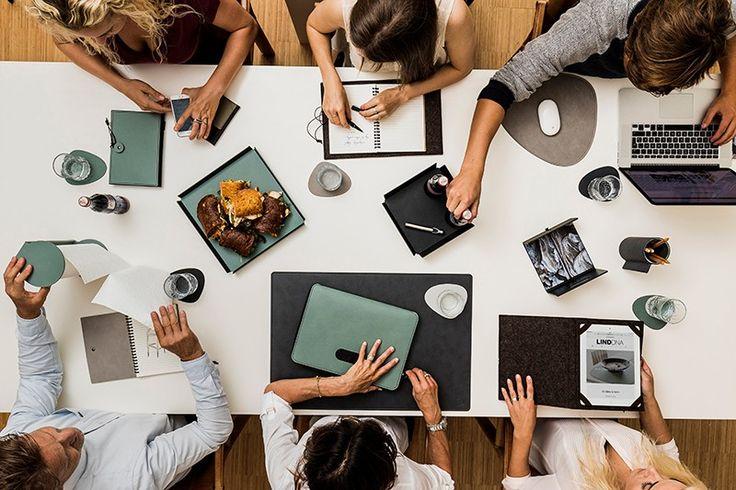 #Bürobedarf: hochwertige Akzente setzen mit #Büroartikel von #LindDNA #CapriniBook - #Notizbuch | hier im #Kontor1710
