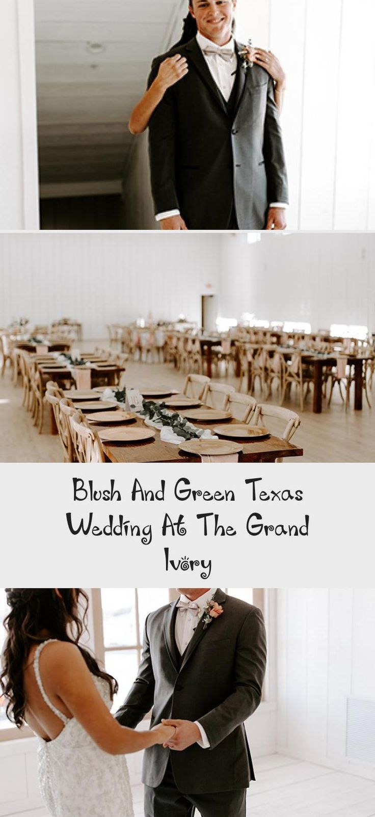 Blush and Green Texas Wedding at The Grand Ivory - Inspired By This #weddingplanner #TealBridesmaidDresses #BridesmaidDressesPurple #PeachBridesmaidDresses #GrayBridesmaidDresses #BurgundyBridesmaidDresses